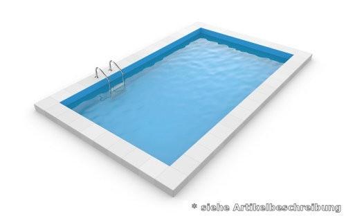 10,0 x 5,0 x 1,5 m Rechteckpool Rechteckbecken Pool