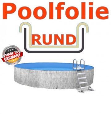 4,50 x 1,35 m x 0,8 mm Poolfolie Sandfarben Einhängebiese Sand