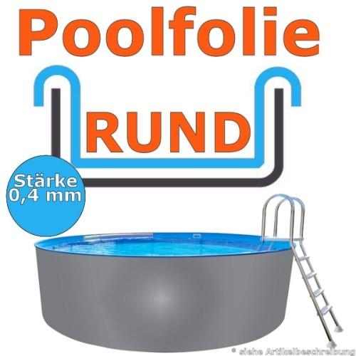 5,50 x 1,20 m x 0,4 mm Poolfolie Schwimmbadfolie 550 x 120 Pool Innenfolie