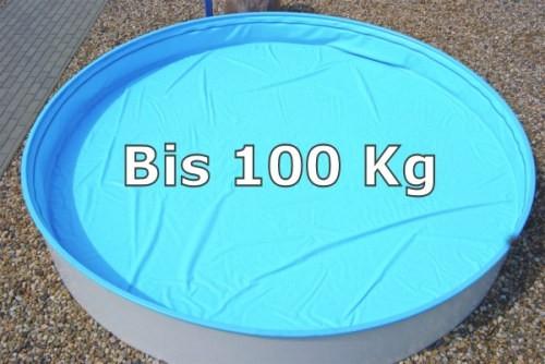 8,55 x 5,00 m Sicherheitsabdeckung Safe Top Achtformpool