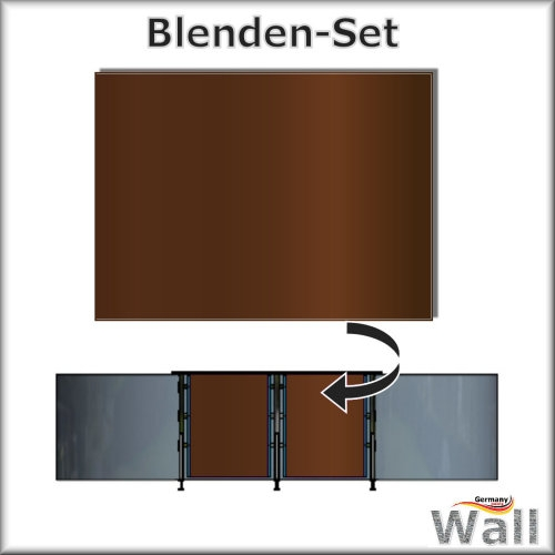 Germany-Pools Wall Blende A Tiefe 1,25 m Edition Sierra