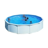 3,00 x 1,20 m Pool STARK1 Plus Set Breiter Handlauf
