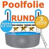 3,60 x 0,90 m x 0,6 mm Poolfolie Schwimmbadfolie 360 x 90 Pool Innenfolie