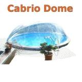 4,50 m Poolabdeckung Cabrio-Dome
