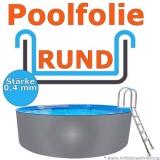 4,60 x 1,20 m x 0,4 mm Poolfolie Schwimmbadfolie 460 x 120 Pool Innenfolie