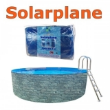 6,10 x 3,60 m Solarplane pool oval 610 x 360 cm Solarfolie