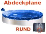 8,0 m Pool Abdeckplane Poolabdeckung 800 Winterplane rund 8,00
