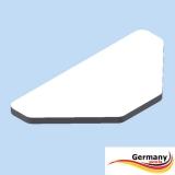 Abdeckplattformen Sitzbohlen Achtformpool Typ:Expert Germany-Pools