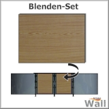 Germany-Pools Wall Blende B Tiefe 1,20 m Edition Wood