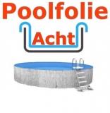 Poolfolie acht 7,25 x 4,60 x 1,50 m x 1,0 Folie Ersatz
