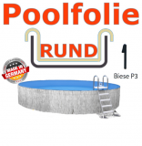Schwimmbadfolie 600 x 120 cm x 0,8 Keilbiese Sand