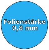 Poolfolie acht 5,25 x 3,20 x 1,20 m x 0,8 Folie Ersatz
