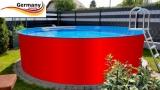 300 x 125 cm Aufstellpool Set