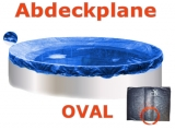 Ovalbecken Palisander 6,1 x 3,6 x 1,20 m Komplettset