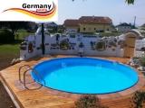 8,00 m Pool Randsteine Rundbecken Rundpool Beckenrandsteine
