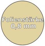 Poolfolie oval 5,25 x 3,20 x 1,50 m x 0,8 Folie Ersatz Sand