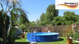 4,50 x 1,25 m Stahlwand Pool