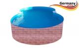 725 x 460 x 120 Pool achtform Achtform Pool Brick Ziegel