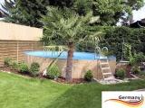 400 x 125 cm Stahl-Pool Set