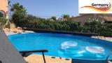 2,5 x 1,2 Schwimmingpool Ziegel-Optik