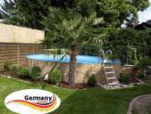 Pool-Aufbau-Pool-Montage-Schwimmbad